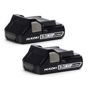 HiKOKI BSL1830C2 18V 3.0Ah Lithium Batteries X 2