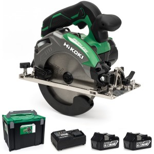 HiKOKI C18DBAL/JX 18V Cordless 165mm Circular Saw ...