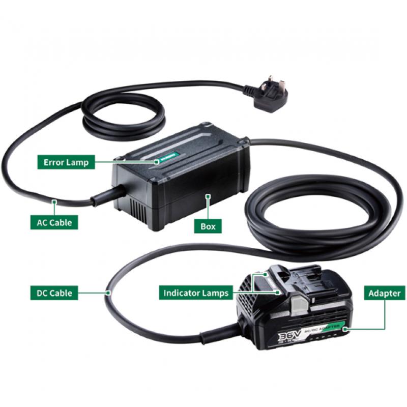HiKOKI Multi-Volt Mains AC/DC Adaptor - ET36A/J0Z