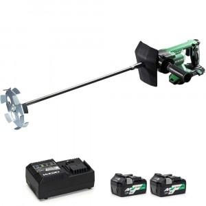 HiKOKI UM36DA/JBZ 36V Cordless 150mm Mixer - Kit 2...