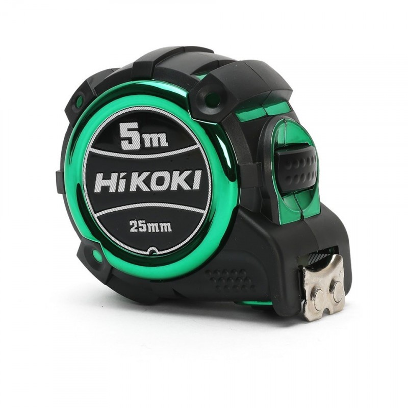 HiKOKI 4310086 5m Double-Sided Nylon Coated Tape Measure with 25mm Tape Width