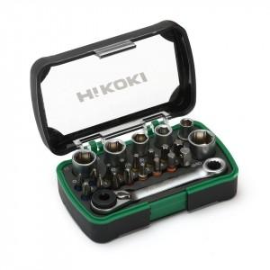 "HiKOKI 750362 24 Piece 1/4"" Bit and Socket Se..."