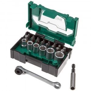 HiKOKI 40030020 24 Piece Stackable Socket Bit Set