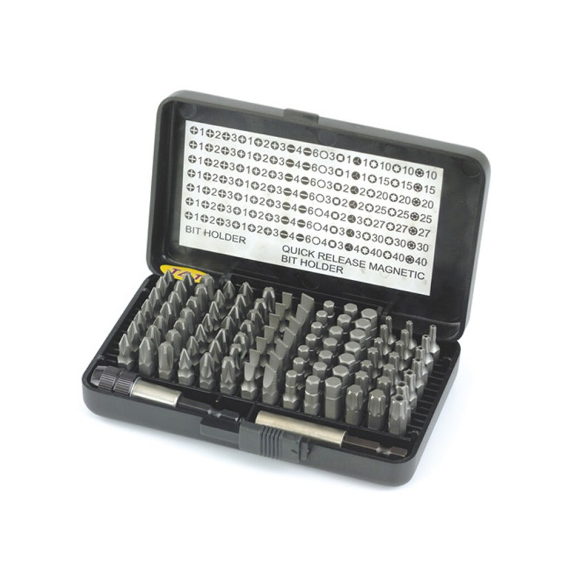 HiKOKI 754000 100 Piece Screwdriver Bit Set In Case
