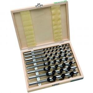 HiKOKI 781993 8 Piece 230mm Wood Auger Drill Bit S...