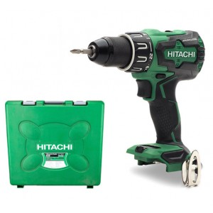 Hitachi DV18DBFL2-CASE Combi Drill 18V Cordless Br...
