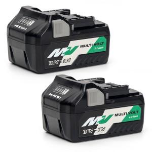 HiKOKI BSL36A18X2 18-36V MultiVolt Battery 5.0Ah P...
