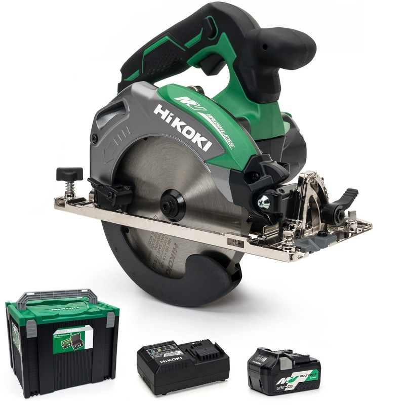 HiKOKI C3606DA-501 MultiVolt Cordless Circular Saw, 165mm - 36V