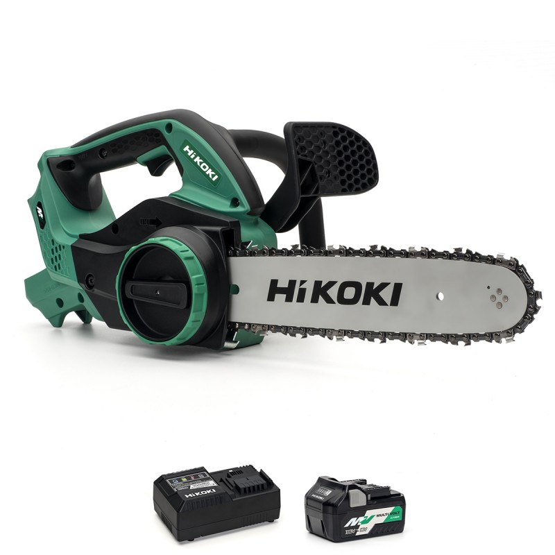 HiKOKI CS3630DA/JLZ MultiVolt cordless chain saw - 36V 1 X 2.5Ah + Charger
