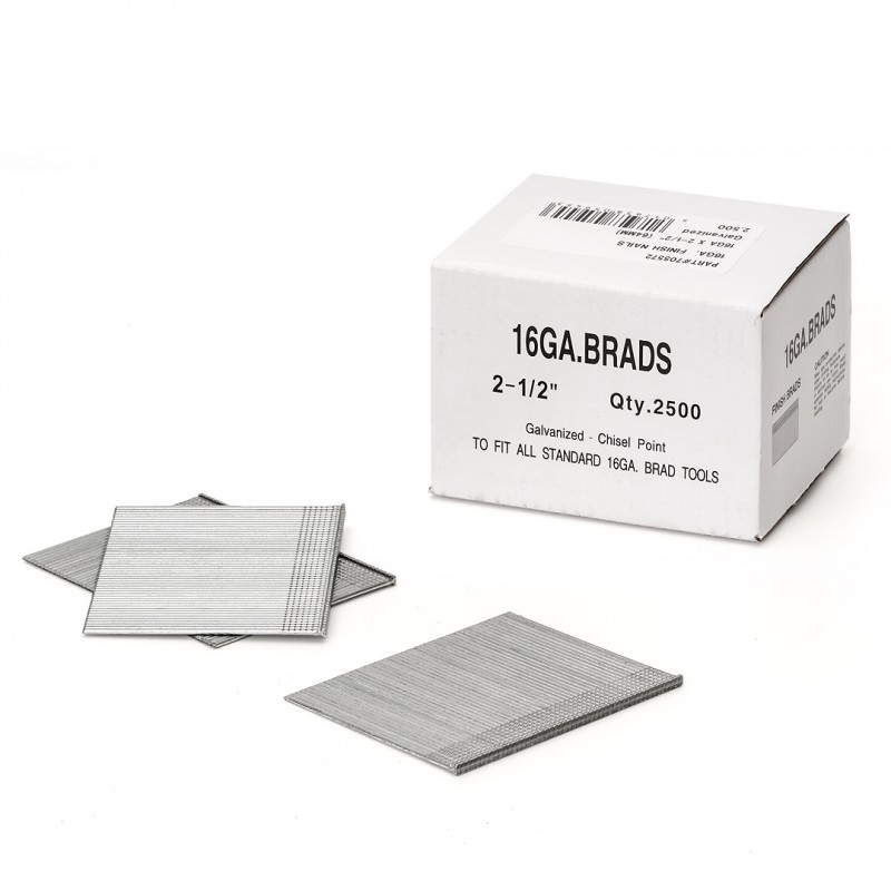 Hikoki 705568 38mm Brad nails 16ga finish 2nd fix 2500 pcs No Gas Cells