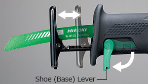 CR18DBL - Tool-less Shoe Adjustment